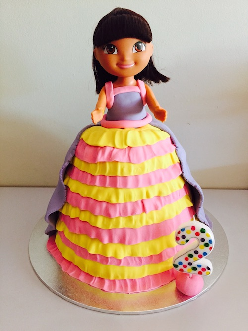 How To Make A Doll Cake With Pyrex Bowl