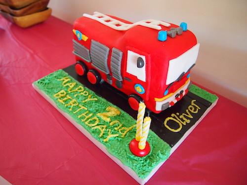 Strange 100 How To Make A Fire Truck Cake Fire Engine Birthday Cake Funny Birthday Cards Online Benoljebrpdamsfinfo