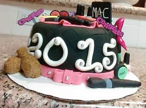 Howtocookthat Cakes Dessert Chocolate Makeup Birthday Cake