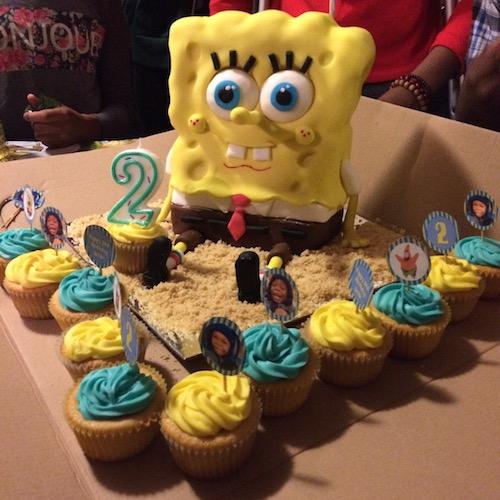 HowToCookThat Cakes Dessert Chocolate Spongebob Cake Tutorial