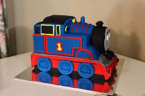 Howtocookthat cakes dessert chocolate 3d thomas train cake hi ann i just wanted to thank you so much i made your thomas cake for my sons 2nd birthday and it was amazing i cant thank you enough pronofoot35fo Images