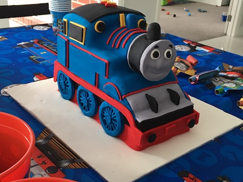 Howtocookthat cakes dessert chocolate 3d thomas train cake i never thought i was capable of making a 3d cake like this your template is fantastic and your directions are spot on thanks again pronofoot35fo Images