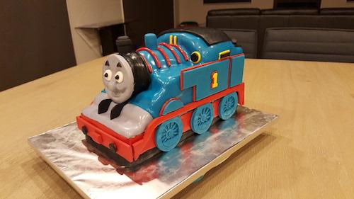 Thomas tank engine cake recipe