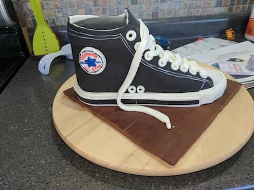 Howtocookthat Dessert Zapatos Amp; Cakes Chocolate Converse amp; Pastel De zZ5qpfxzwn