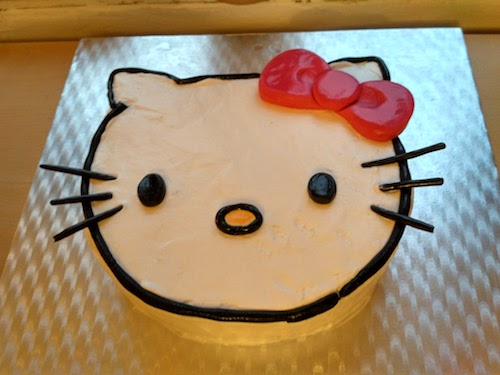 How to Make a Hello Kitty Cake foto