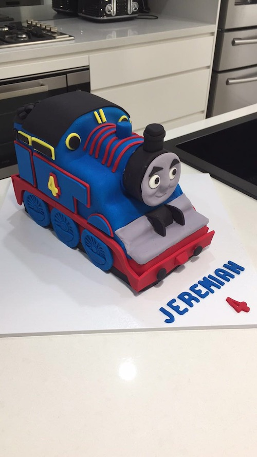 Howtocookthat cakes dessert chocolate 3d thomas train cake hi ann thank you so much for your of your step by step guide i have attached a pic for you to see the end result pronofoot35fo Images