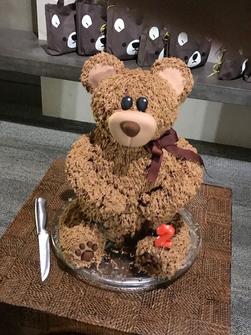 Howtocookthat Cakes Dessert Chocolate Teddy Bear Cake