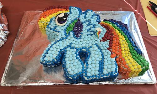 Astonishing Howtocookthat Cakes Dessert Chocolate My Little Pony Cake Funny Birthday Cards Online Kookostrdamsfinfo