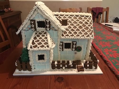 Howtocookthat Cakes Dessert Chocolate Gingerbread House