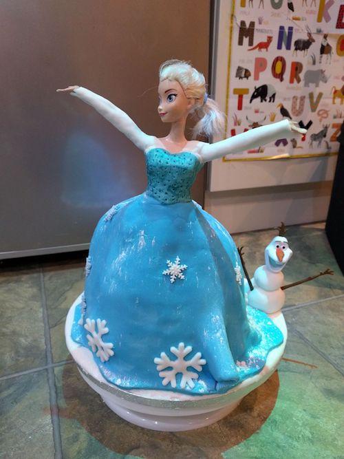 Howtocookthat Cakes Dessert Chocolate Frozen Elsa Cake