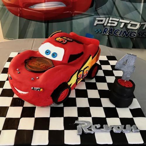 HowToCookThat Cakes Dessert Chocolate 3D Lightning McQueen