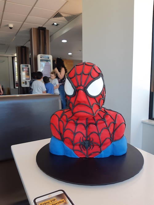 Brilliant Howtocookthat Cakes Dessert Chocolate 3D Spiderman Cake Personalised Birthday Cards Beptaeletsinfo