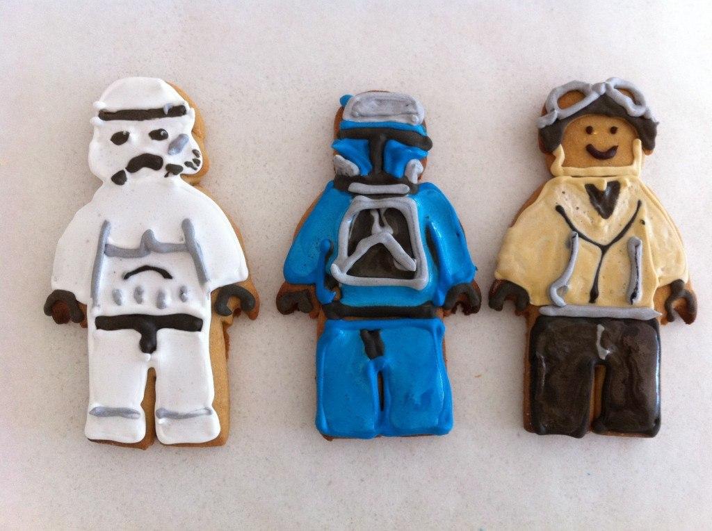 lego star wars biscuits