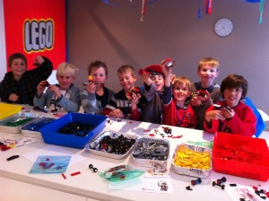 lego kids party ideas building cars