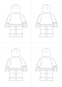lego party colouring in