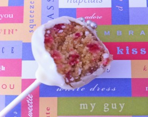 raspberry and white chocolate cake pops wedding how to cook that ann