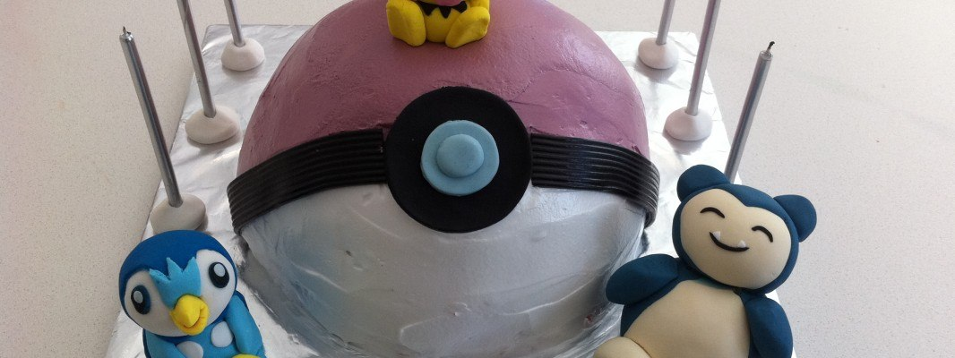 Howtocookthat Cakes Dessert Chocolate Pokemon Birthday Cake