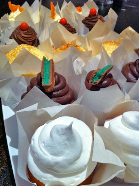 yummy chocolate mint ganache cupcake frosting recipe
