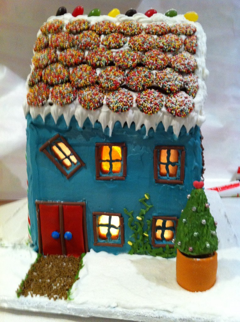 Easy Gingerbread House | HowToCookThat : Best Birthday Cakes ...