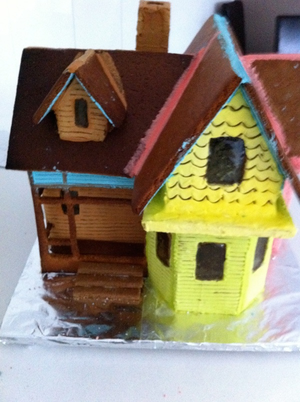 Howtocookthat cakes dessert chocolate once it is for Gingerbread house plans