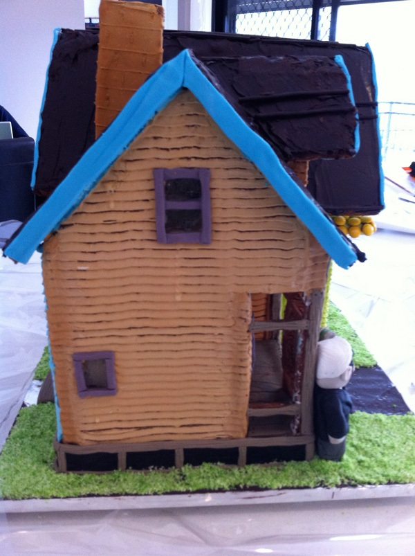 photograph about House From Up Printable named HowToCookThat : Cakes, Dessert Chocolate Gingerbread