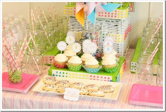 girls first birthday party ideas