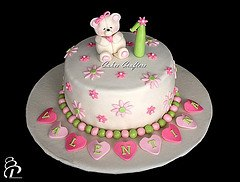 First Birthday Party Ideas Cake Girl