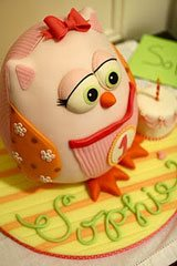 first birthday owl cake ideas