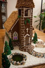 HowToCookThat : Cakes, Dessert & Chocolate | Gingerbread House Ideas on church family house, church snow, church cupcakes, church autumn, church country gingerbread recipe, church candy, church cakes,