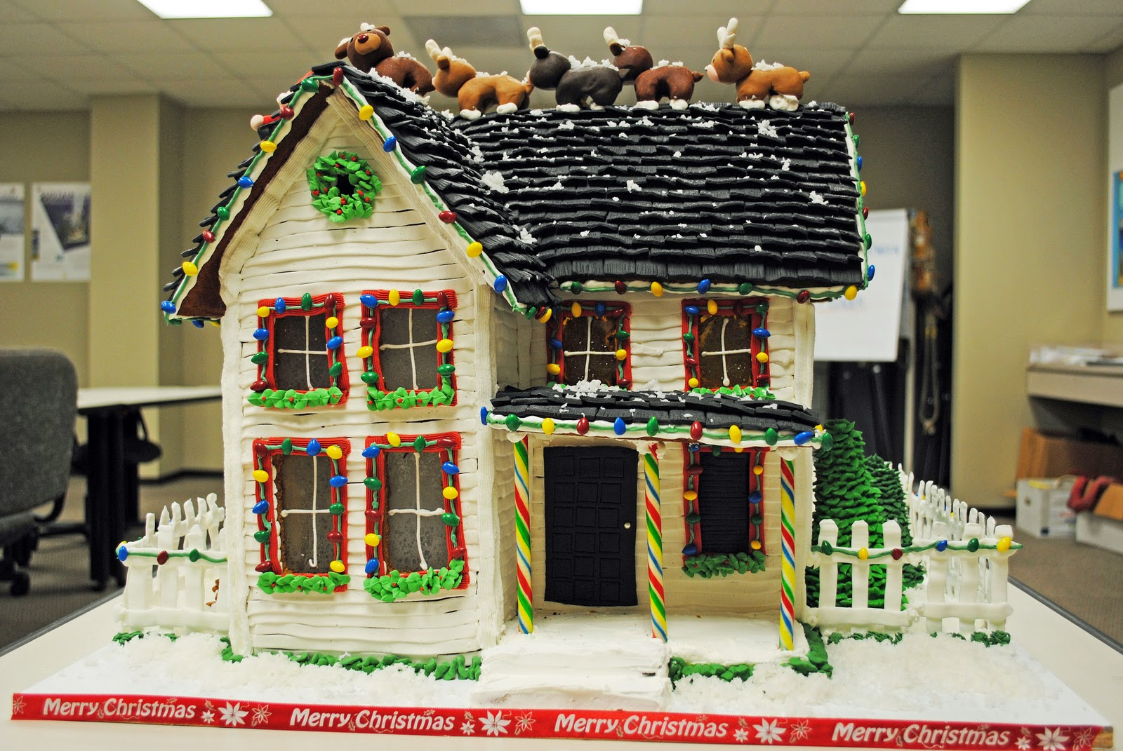 Howtocookthat cakes dessert chocolate gingerbread for How to make best gingerbread house