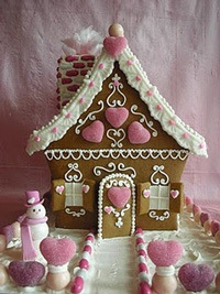 beautiful ginger bread house