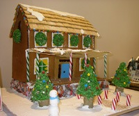 ginger bread house competition ashville