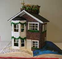 ginger bread house storybook