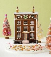ginger bread house traditional