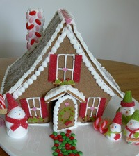 ginger bread house cute