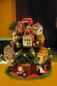ginger bread tree house