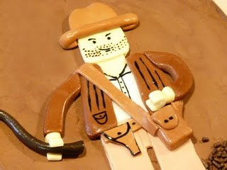 lego indiana jones cake