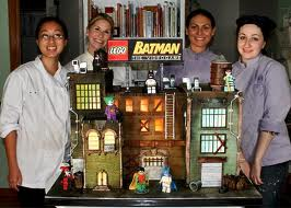 lego batman cake video