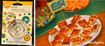 lego party food pizza