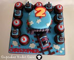 thomas the tank engine train birthday cake 12