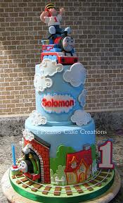 thomas the tank engine huge amazing cake