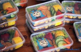 thomas the tank engine bento