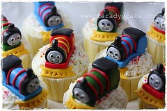 thomas the tank engine train birthday party food ideas