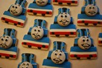 thomas the tank engine cookies