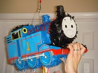 thomas the tank engine picnic birthday party