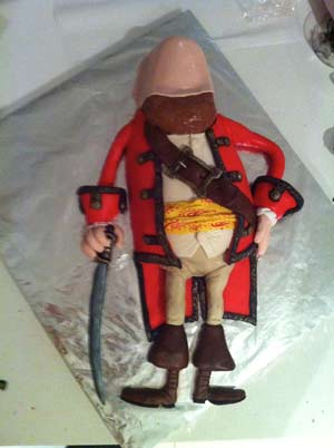 pirates band of misfits amazing cake