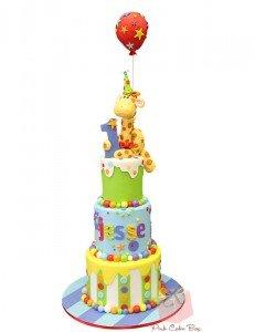 Tiki Birthday Cake Matthew