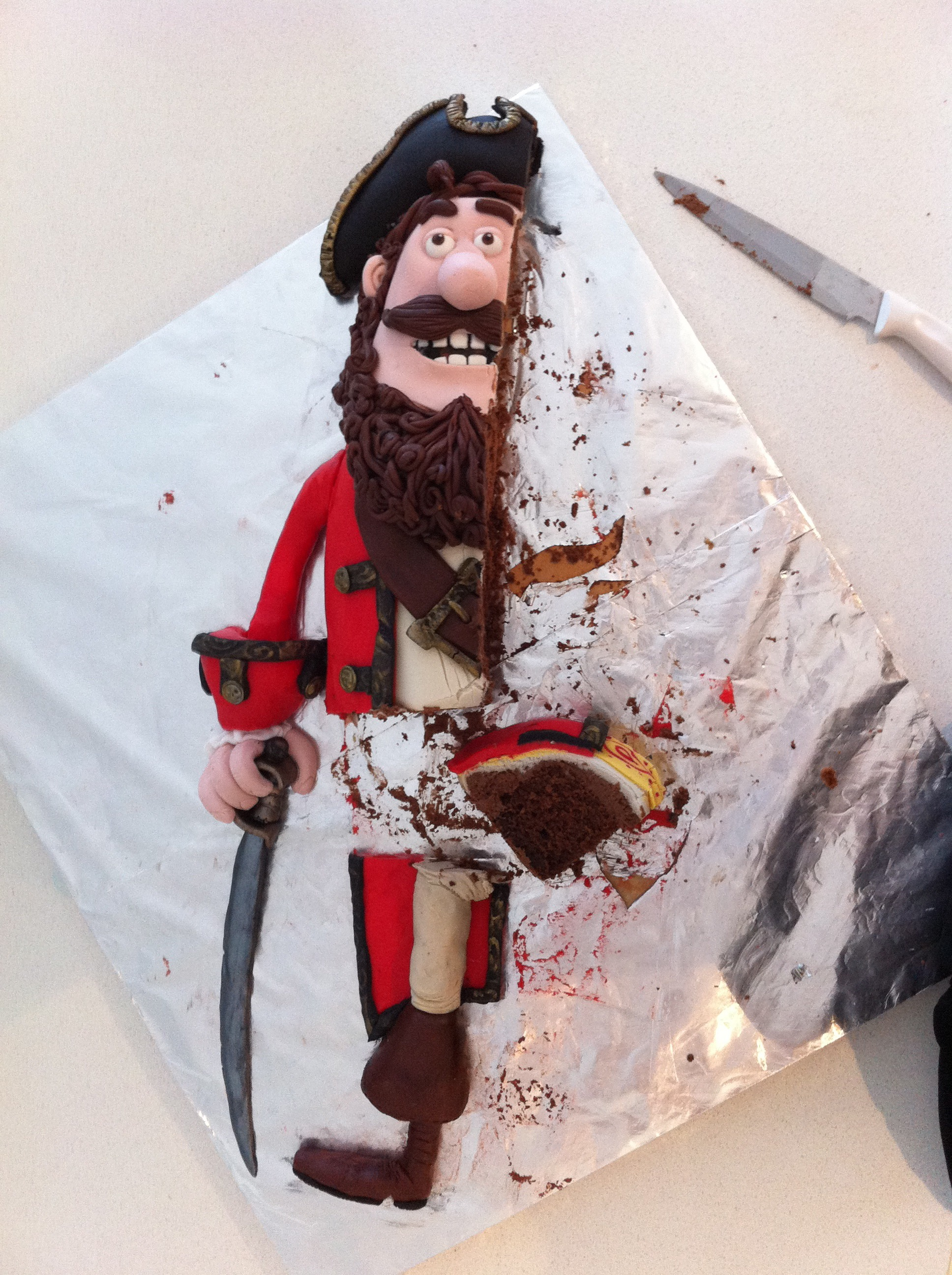 pirates band of misfits birthday cake pirate captain