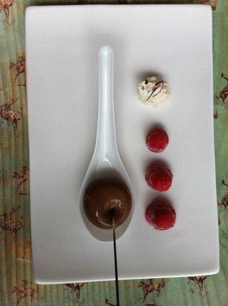 chocolate gnache spherical recipe