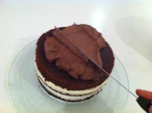 first birthday ganache cake